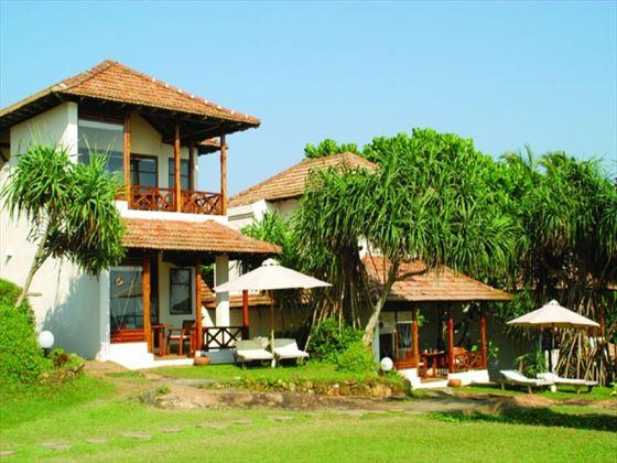Exterior view of Saman Villas