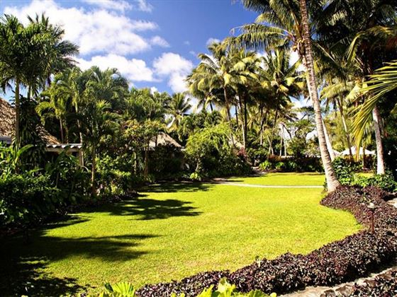 Exterior view of the Garden Villas at Pacific Resort Rarotonga