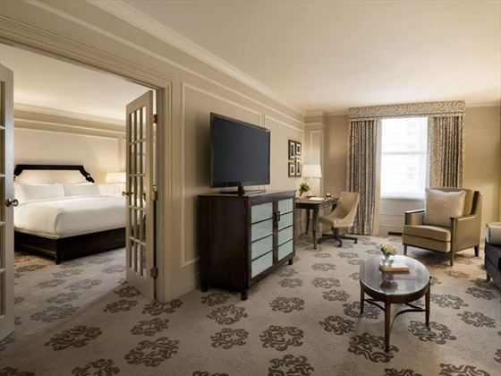 Fairmont Hotel Vancouver, One Bedroom Suite