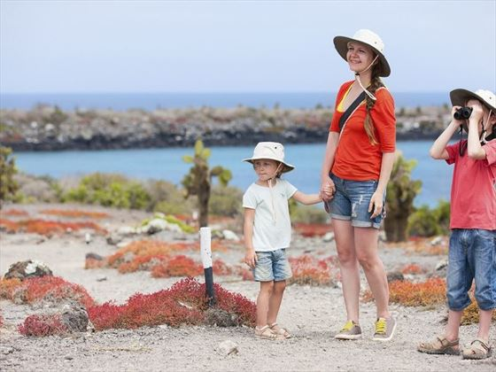Family Exploring in the Galapagos