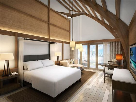 Fiji Marriott Resort Momi Bay Duplex Lagoon interiors