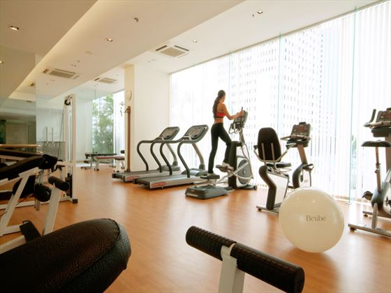 Fitness centre at Rembrandt Hotel Bangkok