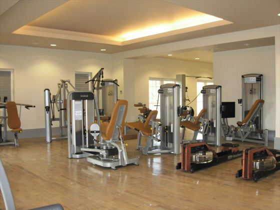 Fitness centre at The Landings