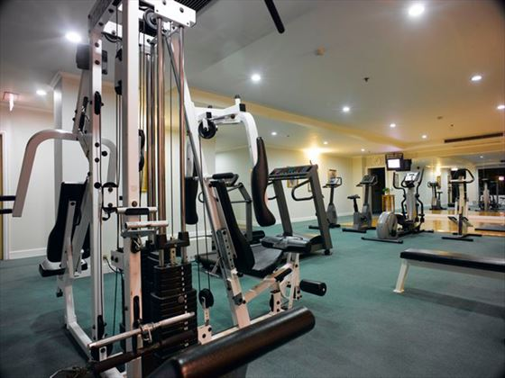 Fitness room at Cape House Langsuan Serviced Apartments
