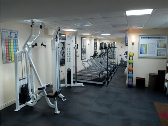 Fitness room at Westin Grand Cayman Seven Mile Beach Resort