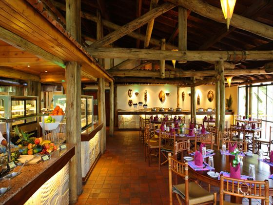 Flamingo restaurant at Sarova Lion Hill Lodge