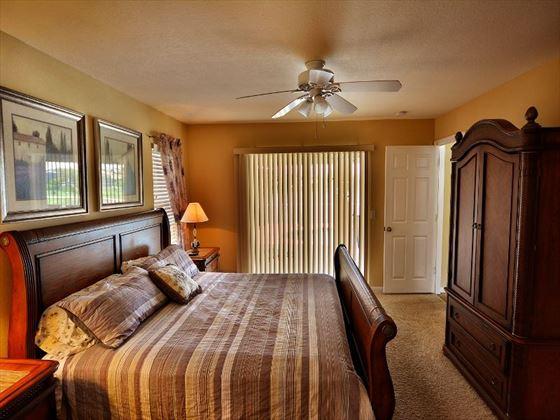 Herons View Master bedroom