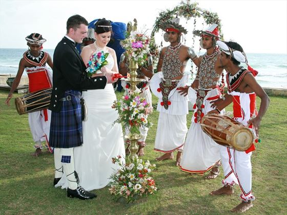 Traditional Sri Lankan wedding