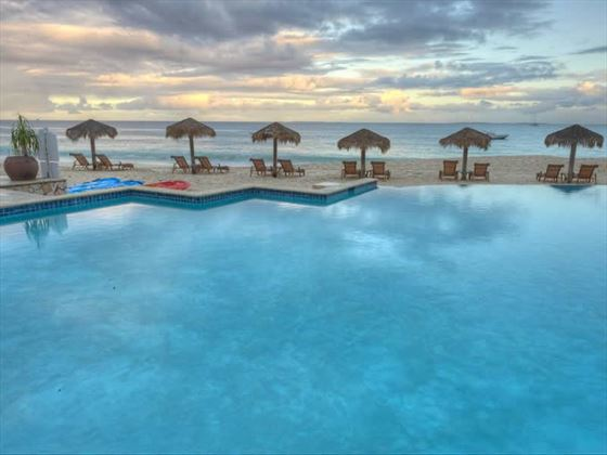 Pool at Frangipani Beach Hotel