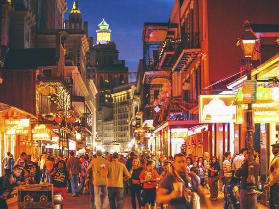 French Quarter nightlife, New Orleans