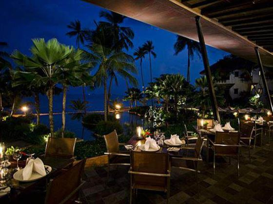 Dine at the Full Moon restaurant at Anantara Bophut Resort and Spa, Koh Samui