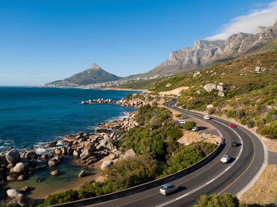 Garden Route near Cape Town
