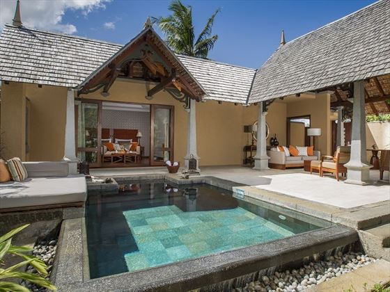 Maradiva mauritius book now with tropical sky for Plunge pool design uk
