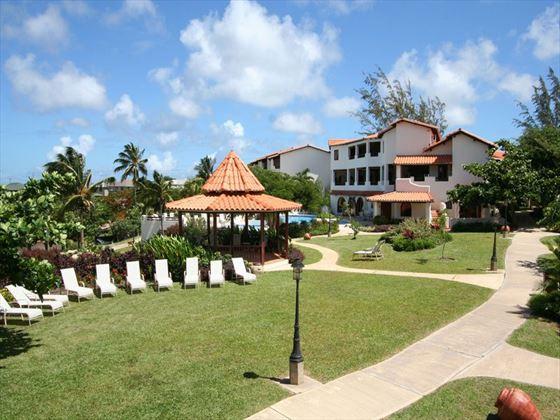 The gardens, Sugar Cane Club Hotel & Spa