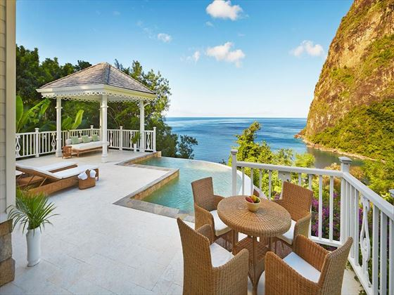 Grand Luxury Villa view at Sugar Beach