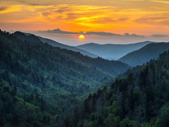 Great Smoky Mountains Sunset