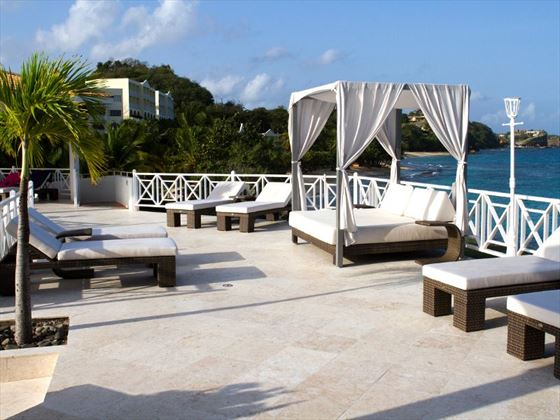 Grenadian by Rex Resorts sun deck