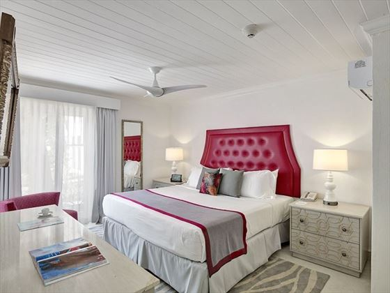 Guest room at Treasure Beach by Elegant