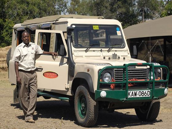Our 4x4 Safari Vehicle and Guide