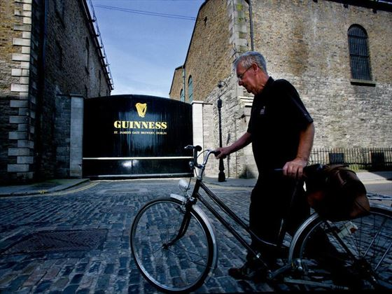 Visit the Guiness Storehouse in Dublin