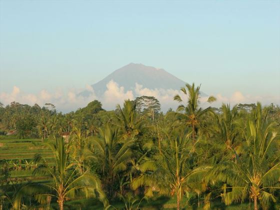 Gunung Agung mountain