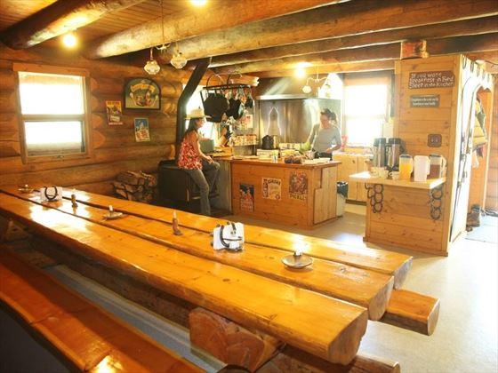 Halfway Lodge Dining Area