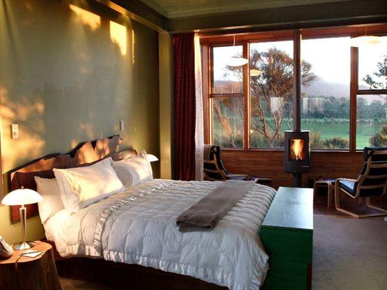 Bedroom at Hapuka Lodge & Tree Houses