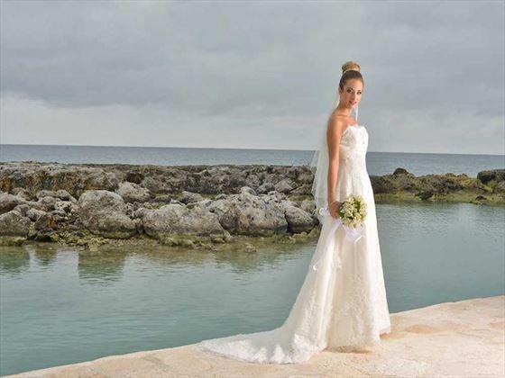 Bride at the Hard Rock Hotel Riviera Maya