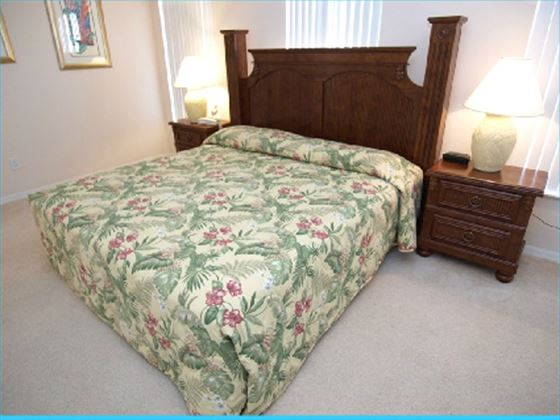 Typical High Grove Home Bedroom