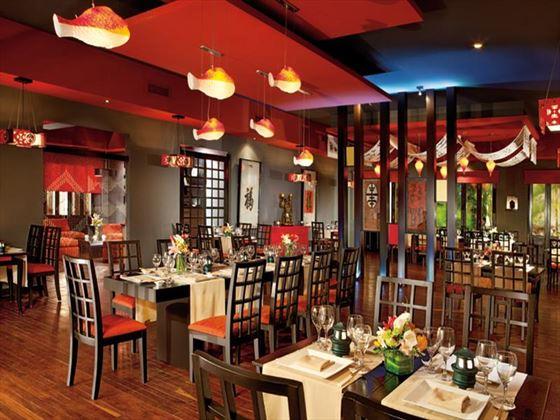 Himitsu restaurant at Dreams Tulum