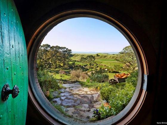 Hobbiton Matamata Waikato Lookout