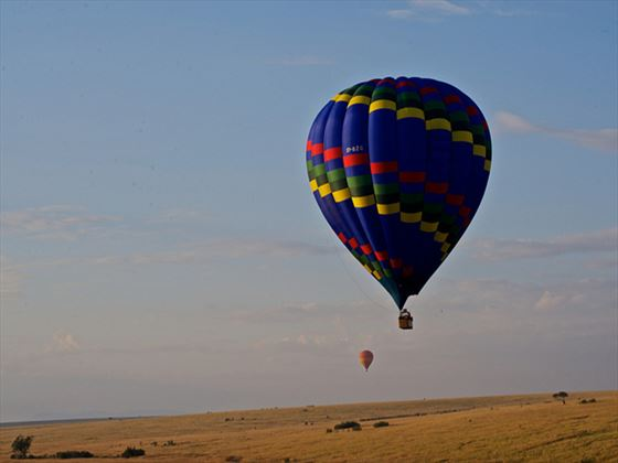 Hot air balloon rides at Mara Explorer