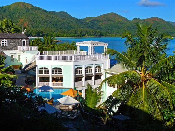 Terrace reception view