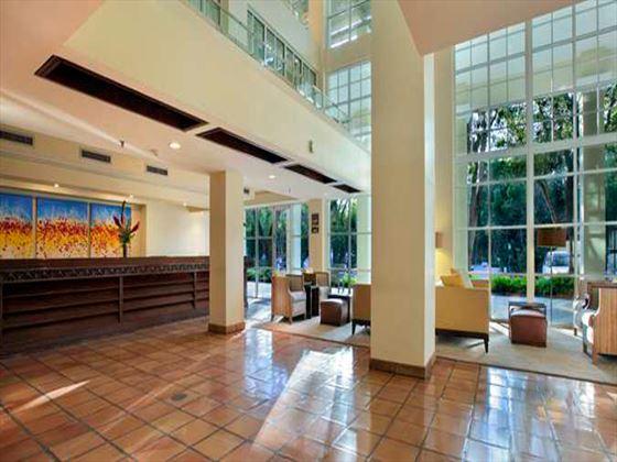 Hilton Key Largo lobby