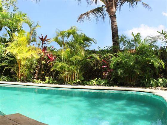 Le Mayeur Suite pool at Hotel Tugu Bali, Canggu Beach