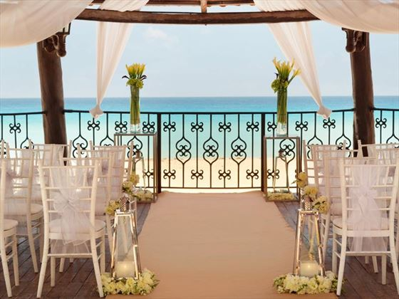 Gazebo Zilara setting for your ceremony