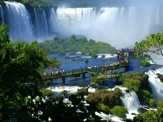 Iguassu Falls Brazilian side