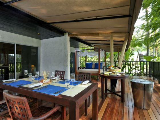 In Suite Terrace at Evason Hua Hin