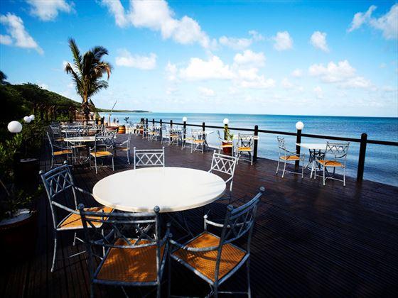 Indigo Bay Resort & Spa beach deck