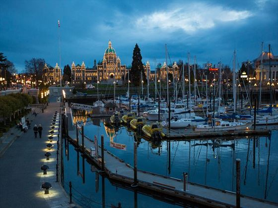 Inner Harbour in Victoria