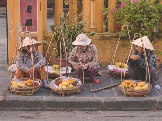 Hoi An Street Sellers