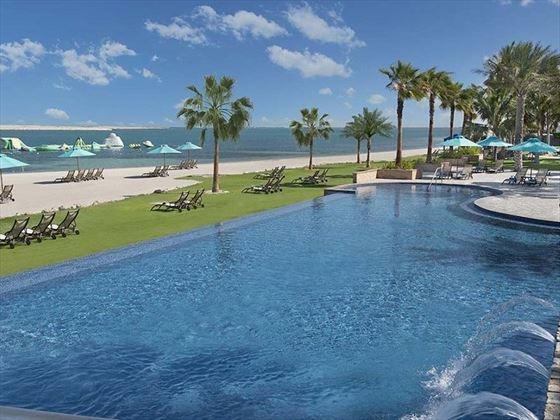 JA Jebel Ali Beach Hotel Anchor Infinity Pool