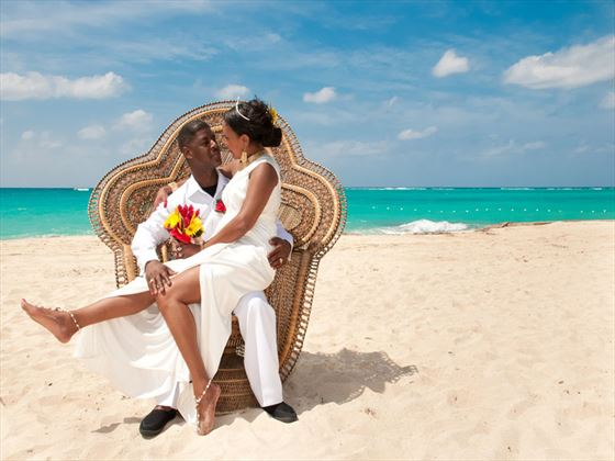 Tropical Wedding In Jaamica Beach Celebration Jamaican Style