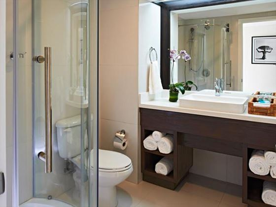 Junior Suite bathroom at Coconut Bay Resort & Spa