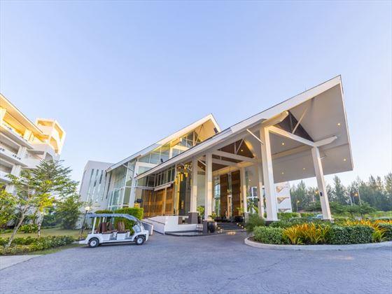 The entrance at Kantary Beach Hotel Khao Lak
