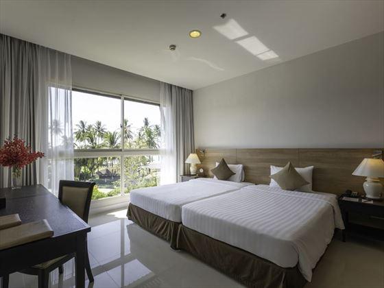 Suite bedroom at Kantary Beach Hotel Khao Lak