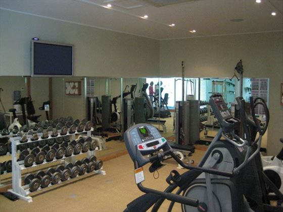 Kauri Cliffs gym