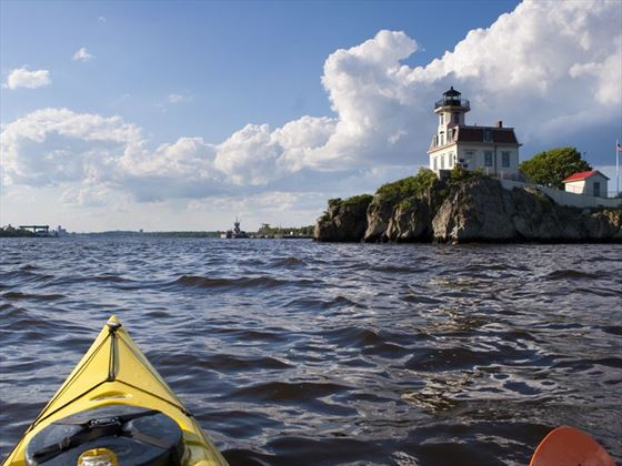 Kayaking in Rhode Island