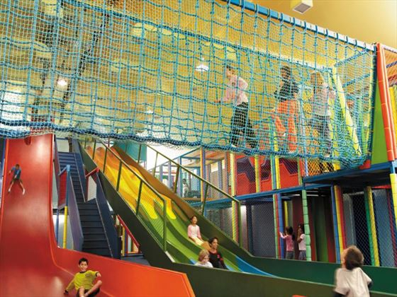 Kids adventure lounge at Golden Sands Resort by Shangri-La