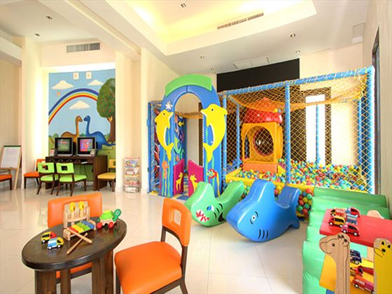 Kids club playroom at The Vijitt Resort